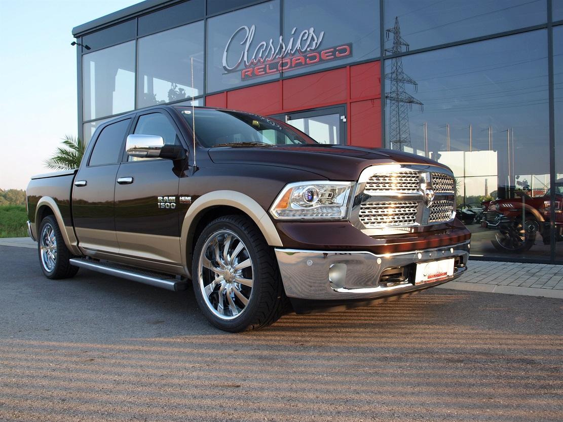 dodge ram 1500 laramie crew classics reloaded. Black Bedroom Furniture Sets. Home Design Ideas
